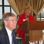 AG Bill McCollum and Anita Mitchell