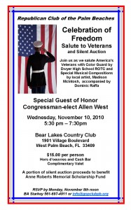 RCPB Veterans Salute Invitation