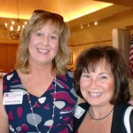 Starla Brown and Pam Wohlschlegel