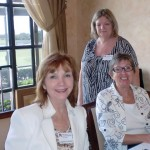 Dorothy Harper, Sue Varey, Clair Jones