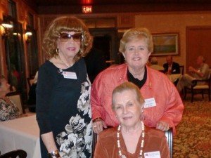 Marilyn Phillips, Mercedes Garcia and Lovey Wilbur
