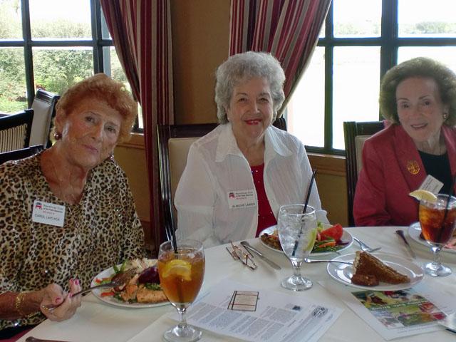 Carol Laplaca, Blanche Lanier, Martha Adkins