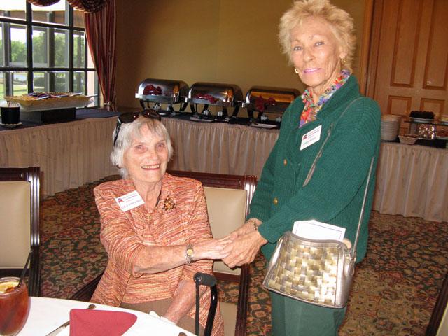Adele Kirkpatrick and Carol Hurst