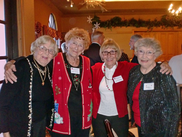 Trudy Ruddy, Carol LaPlaca, Natalie Marks, Betty Wells