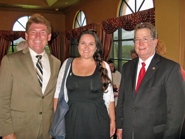 David Wagie, Andrea McGee, Jay Bonner