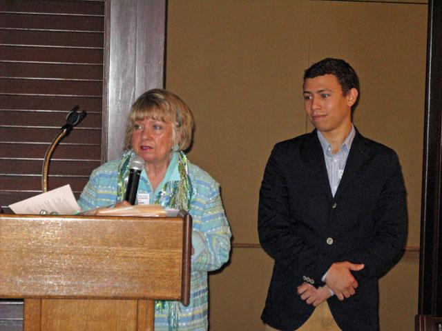Bette Anne Starkey and Aaron Mejias