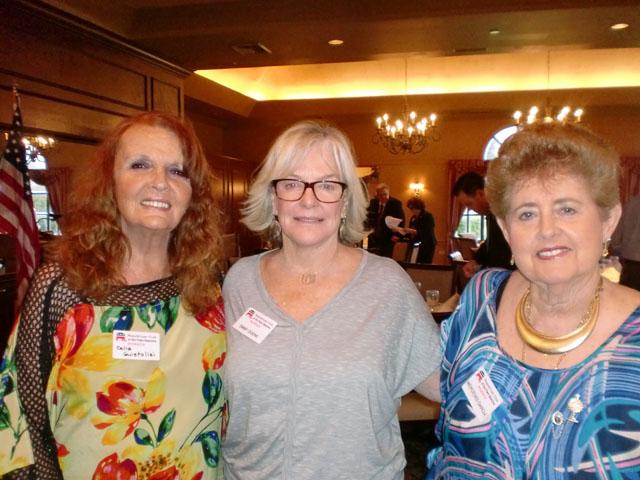 Celia Guistolisi, Emmy Ogens and Mercedes Garcia