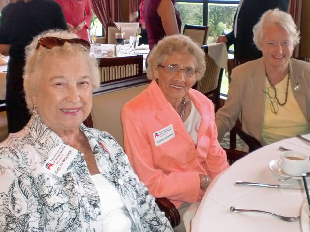 Evelyn Weicker, Connie Cestari and Nancy Hogan