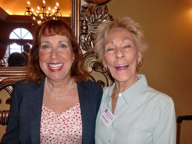 Marilyn Parmet and Carol Hurst