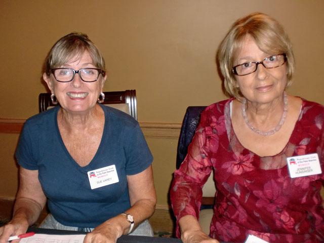 Sue Varey, Jennifer Hunsinger