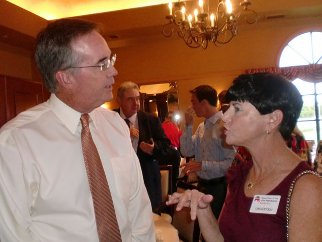 CFO Atwater and Linda Stoch