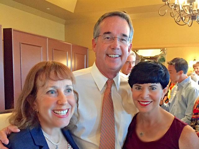 Marilyn Parmet, Jeff Atwater, Linda Stoch