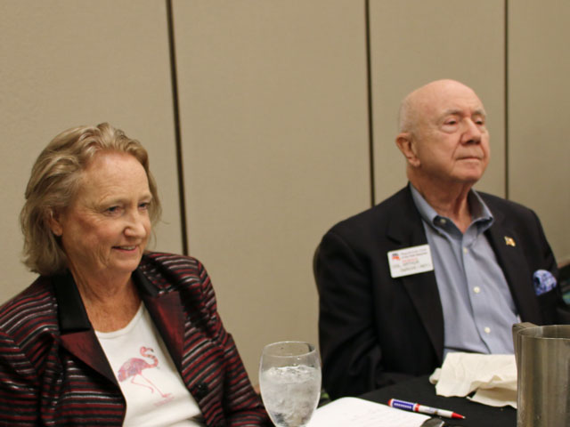 Nancy Hogan, Col. Arthur DeRuve