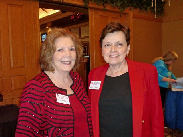 Fran Hancock and Sally Schmiedl