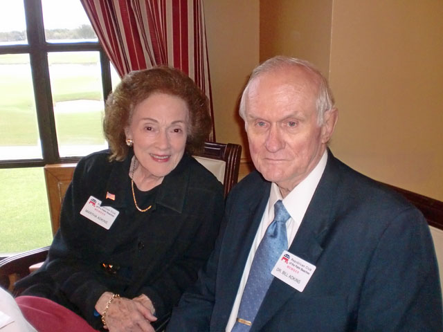 Martha and Dr. Bill Adkins
