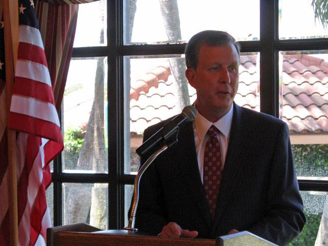 DEP Secretary Herschel Vinyard