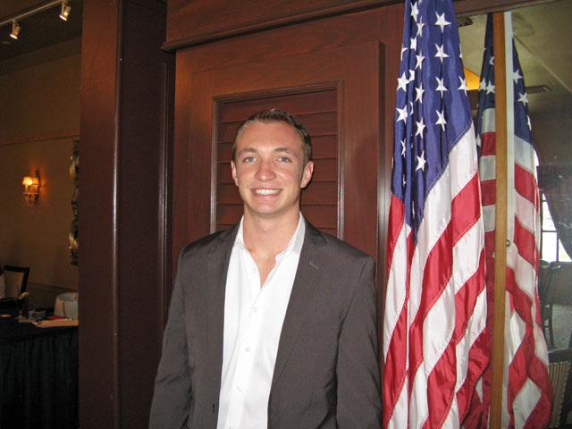 Scholarship Winner Dylan Brandenburg