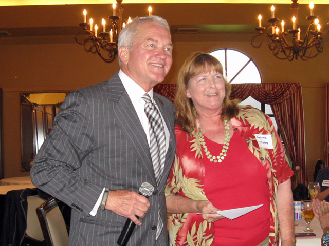 Mark Foley and Joanne Matry