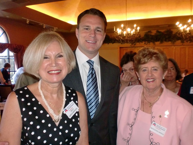 Delia Menocal and Mercedes Garcia with Speaker Weatherford