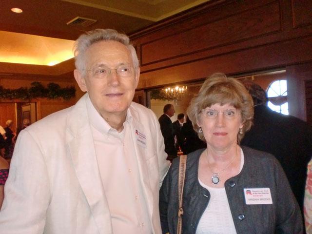 John and Virginia Brooks